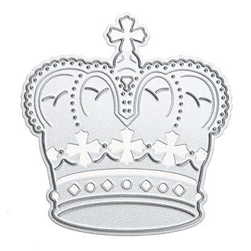 winnereco troqueles de corte de corona diseño de metal molde para DIY álbum de recortes Tarjeta de papel: Amazon.es: Juguetes y juegos