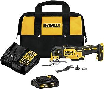Dewalt DCS356C1 20V MAX XR 3-Speed Cordless Oscillating Multi-Tool Kit