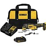 DEWALT 20V MAX XR Oscillating Tool Kit, 3-Speed (DCS356C1)
