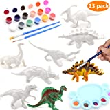 BEIGUO Kids Crafts 3D Painting Dinosaurs Toys Arts and Crafts for Kids Girls Boys Toddlers Dinosaur Party Favors Arts and Crafts Supplies