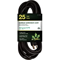 Go Green Power 16/3 25ft Heavy Duty Extension Cord