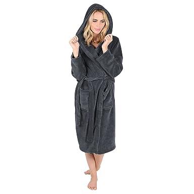 Luxuriöser Damen-Fleece-Bademantel,-Morgenmantel oder ...