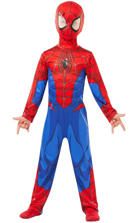 3-4 Anni//104 cm Rubie s 640840S Spiderman Marvel Spider-Man Classic costume bambino S