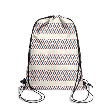 aa6ddd93838b Amazon.com | Popular Classic reusable Drawstring Bag -4th of July ...