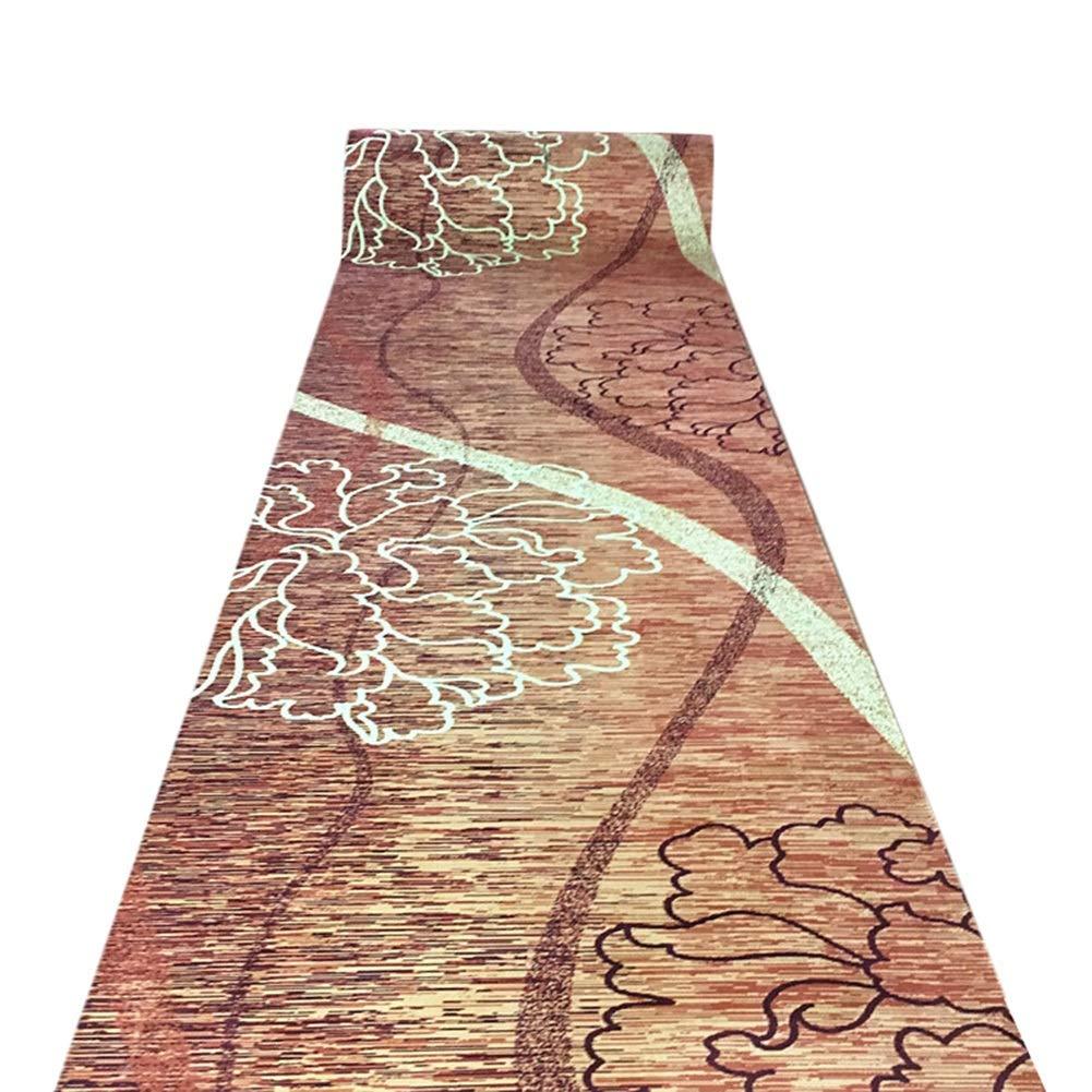 JIAJUAN Läufer Teppiche Flur 3D Rutschfest Küche Halle Passage Eingang Matte, 7mm, 2 Farben, Mehrere Größen Anpassbare (Farbe   B, größe   1x5m)