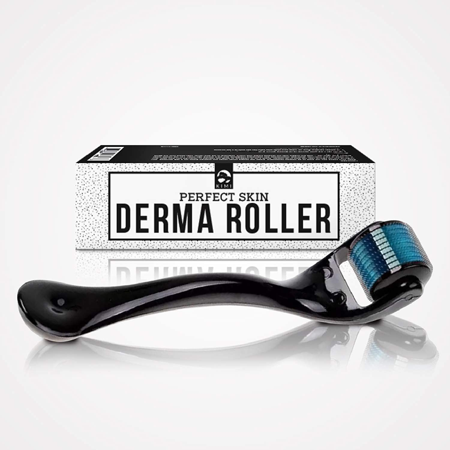 Micro Needles Derma Roller - 0.25 mm - 540 Microneedle Roller For Face And Skin by KIMI Wabi Sabi Innovations