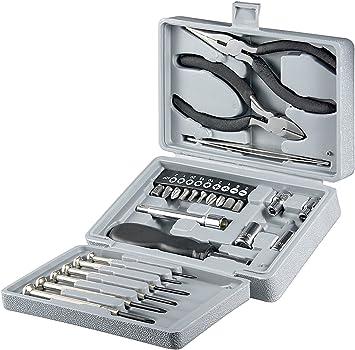 Fixpoint WZ Tool Box – Caja herramientas 25 piezas) Plata: Amazon.es: Electrónica
