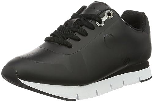 Calvin Klein Jeans Taline Rub Smooth/hf, Zapatillas para Mujer, Negro Black, 38 EU: Amazon.es: Zapatos y complementos