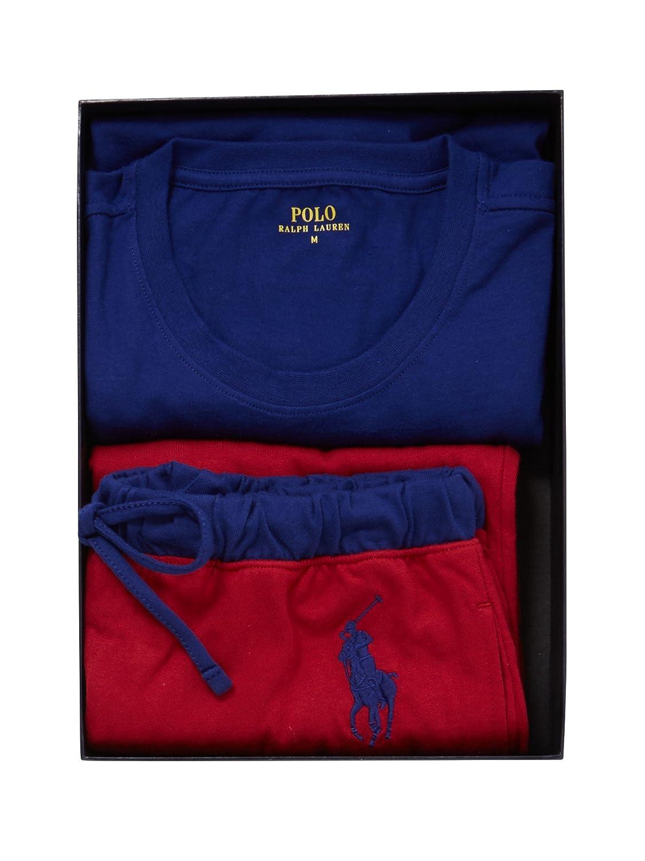 Lauren Gift Royal Set Ralph Polo Jersey Pajama BoxSporting Men HW9ID2E