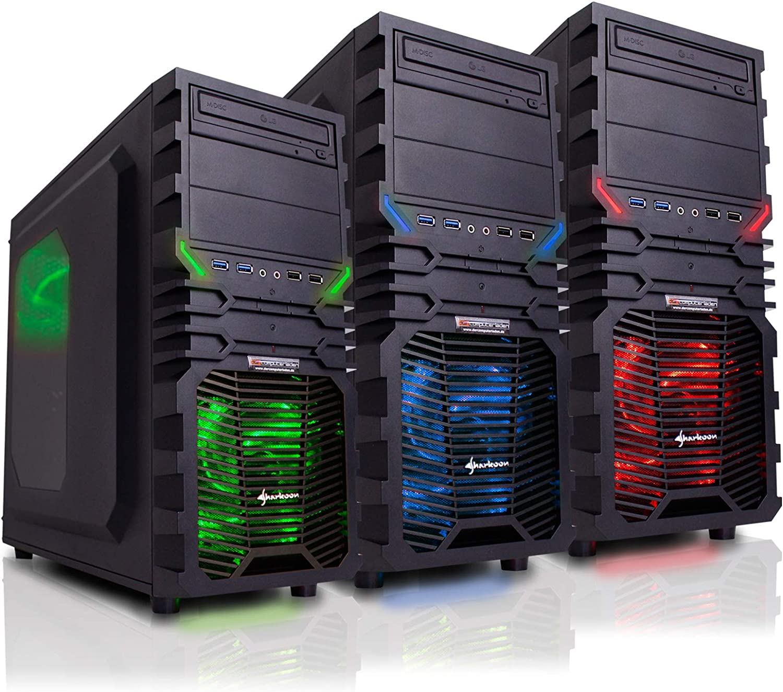 mit 16GB RAM und 2000GB HDD dercomputerladen PC Gaming Sistema AMD Incl - FX 6300 con nVidia GTX 1070 8GB Incl. Instalaci/ón Windows 7 FX-6300 6x3,5 GHz
