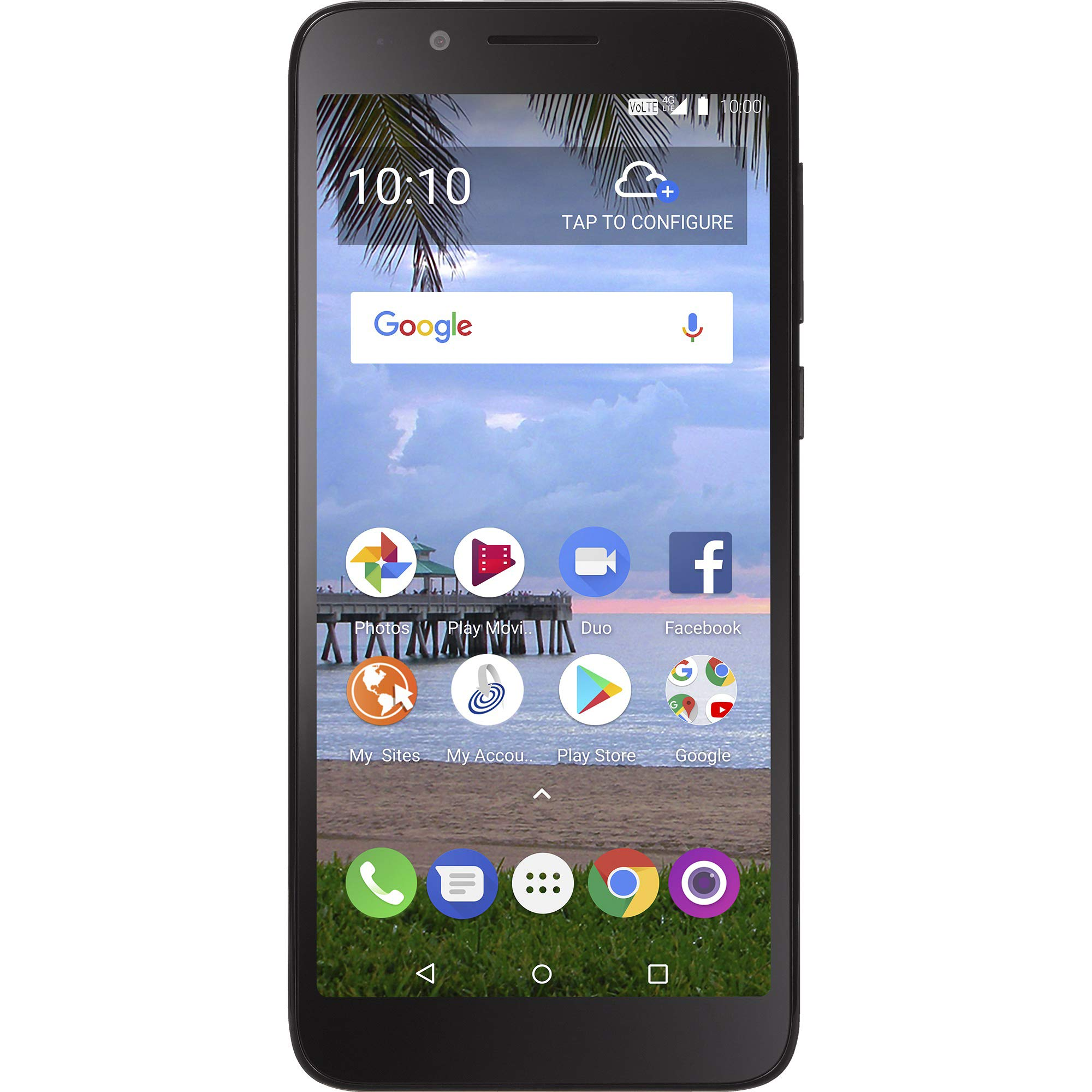 TracFone TCL LX 4G LTE Prepaid Smartphone by TracFone
