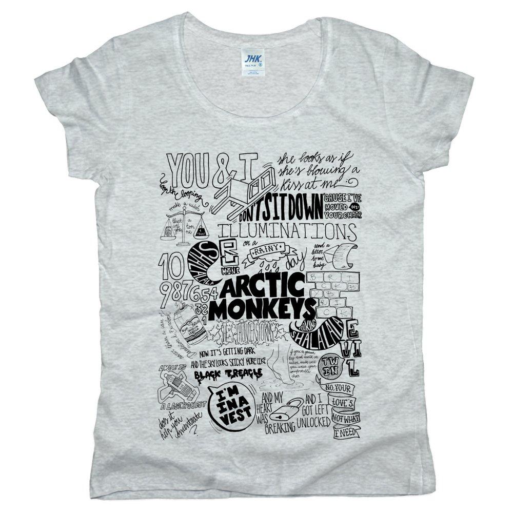 Arctic Monkeys Jhk Palma Tshirt