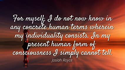 Amazoncom Josiah Royce Famous Quotes Laminated Poster Print