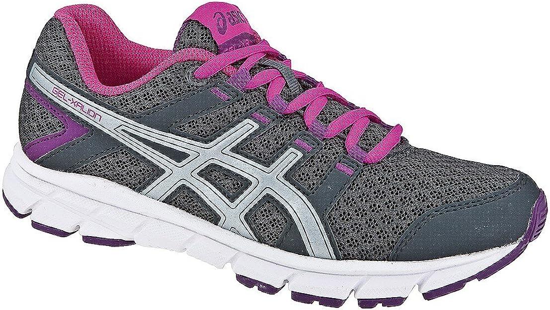 Asics - Zapatillas de Running para niña Gris Gris: Amazon.es ...