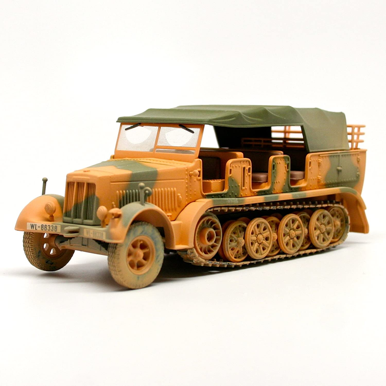 1/50th Scale Sd.Kfz.7/1 Krauss-Maffei Semi-Track - German Army - Hermann Goering Panzer Corps