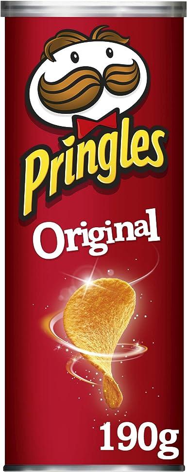 Pringles Original, 3 Pack (3 x 190 g): Amazon.es: Alimentación y ...