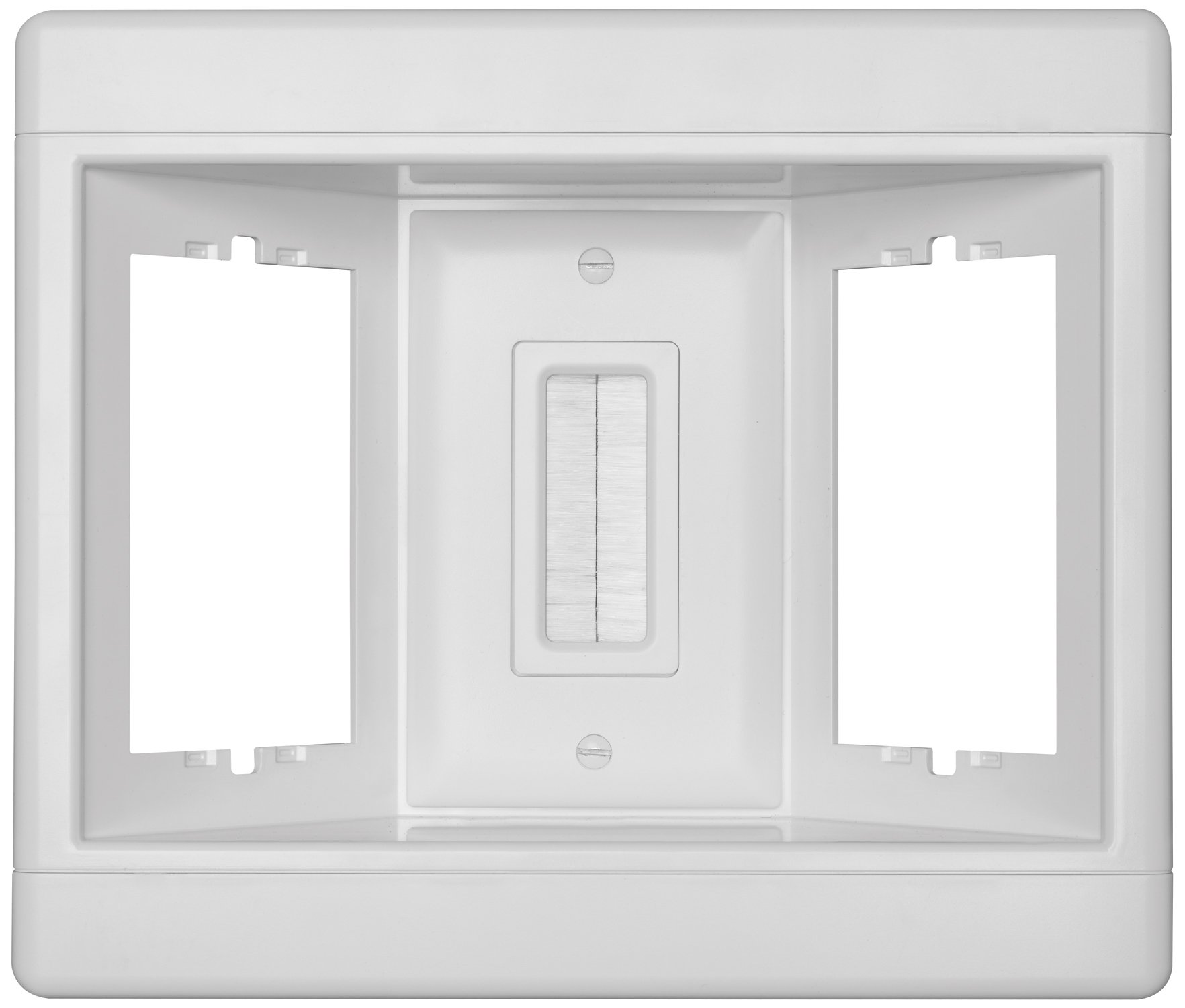 Legrand - Pass & Seymour TV3LVKITWCC2 Recessed Television Box Three Gang Low Voltage Kit Easy Installation by Pass & Seymour