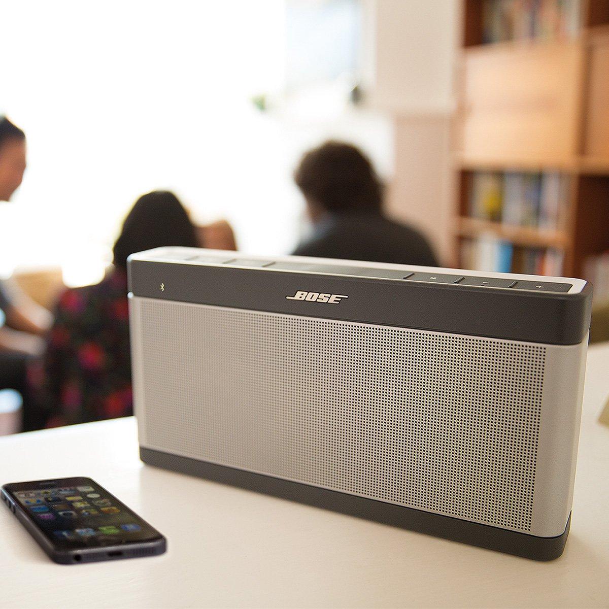 Altavoz Bluetooth Bose SoundLink Bluetooth III por solo 248€