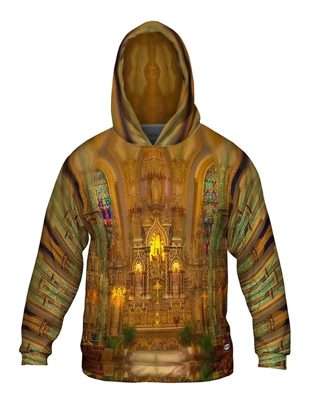 Yizzam The Front of The Notre Dame Allover Print Mens Hoodie Sweater 0621