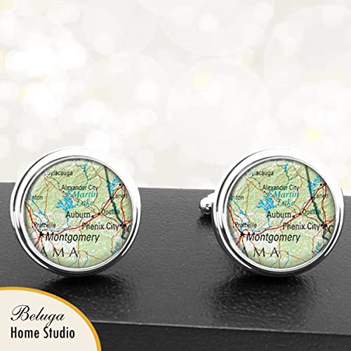 Amazon.com: Cufflinks Auburn Alabama Montgomery AL Map Cuff ... on southern cal state map, northern michigan state map, concord state map, rochester state map, eastern ct state map, tucson state map, augusta state map, tulsa state map, northern colorado state map, ole miss state map, williamsburg state map, lake hartwell state map, montgomery state map, lake oroville state map, powder river state map, walla walla state map, anaheim state map, dupont state map, harvard state map, hillsdale state map,