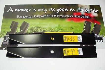 Amazon.com: 2 XHT HD EE. UU. Cuchillas Para Rueda de toro ...
