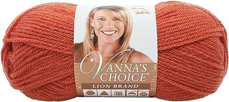 Vanna/'s Choice Baby Lion Brand Yarn 3.5 oz 100/% Acrylic Cheery Cherry 114