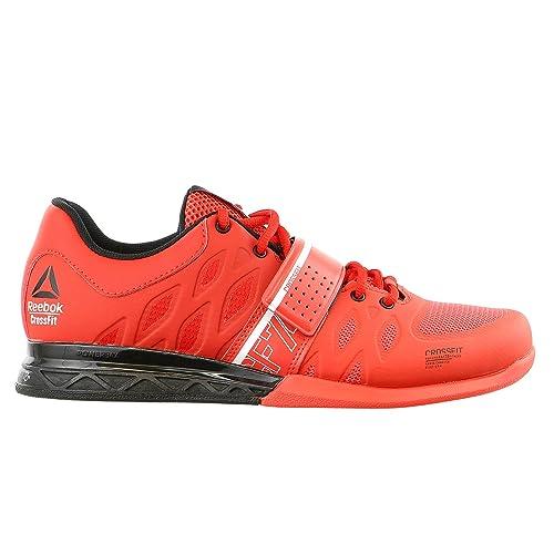 Reebok Crossfit Lifter 2.0 - Zapatillas de Entrenamiento para Hombre, Rojo (Laser Red/Motor Red/Black / White), 11 M US: Amazon.es: Zapatos y complementos