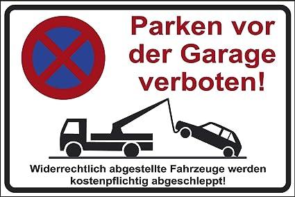 TEILE-24.EU - Cartel de Prohibido aparcar en el Garaje ...