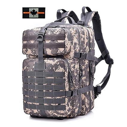 2649f5247 Magarrow Military Tactical 40L Backpack Large 3 Day Hiking Camping Backpacks  . Tan