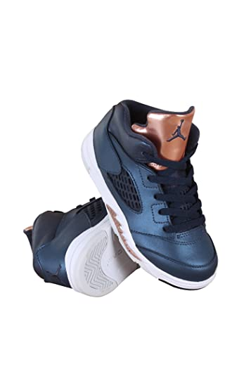 27282bc38615 440890-416 INFANTS AND TODDLER 5 RETRO BT JORDAN OBSIDIAN WHITE
