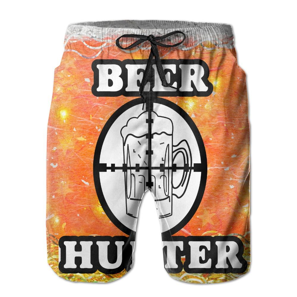 d24ead83ca LOVEHOME Mens This Guy Need Beer Funny Summer Quick-drying Swim Trunks  Beach Shorts Cargo