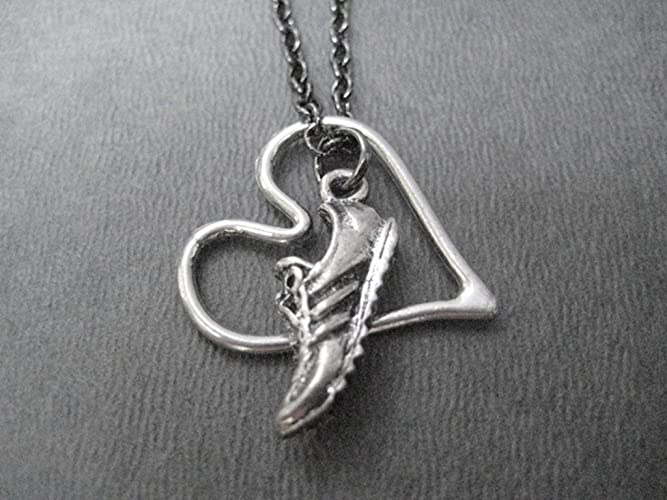 Runners Heart Necklace