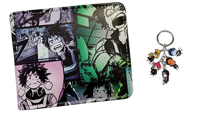 Amazon Com Traveloxicity Gear My Hero Academia Wallet With