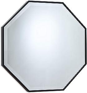 Wall Mirror, Octagon Black Mirrors 26