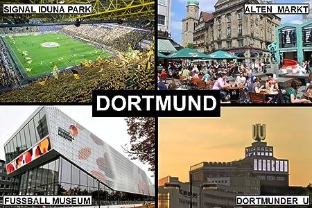 Souvenir imán para nevera - Dortmund Alemania 9 cm x 6 cm Jumbo ...