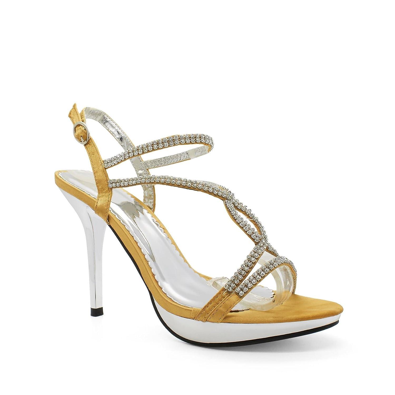 London 19996 Footwear , Semelle , compensée doré femme Or - doré 7a3687f - reprogrammed.space