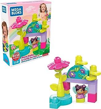 Mega Bloks set de bloques de construcción hadas con su jardin de flores para niños + 1 año (Mattel GKX77): Amazon.es: Juguetes y juegos