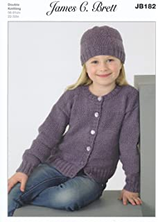 61bed164584bf King Cole 5036 Knitting Pattern Girls Unicorn Sweater and Cardigan ...