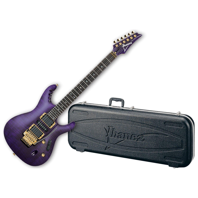 Ibanez Herman Li EGEN18 Electric Guitar w/Case - Transparent Violet Flat:  Amazon.ca: Musical Instruments, Stage & Studio