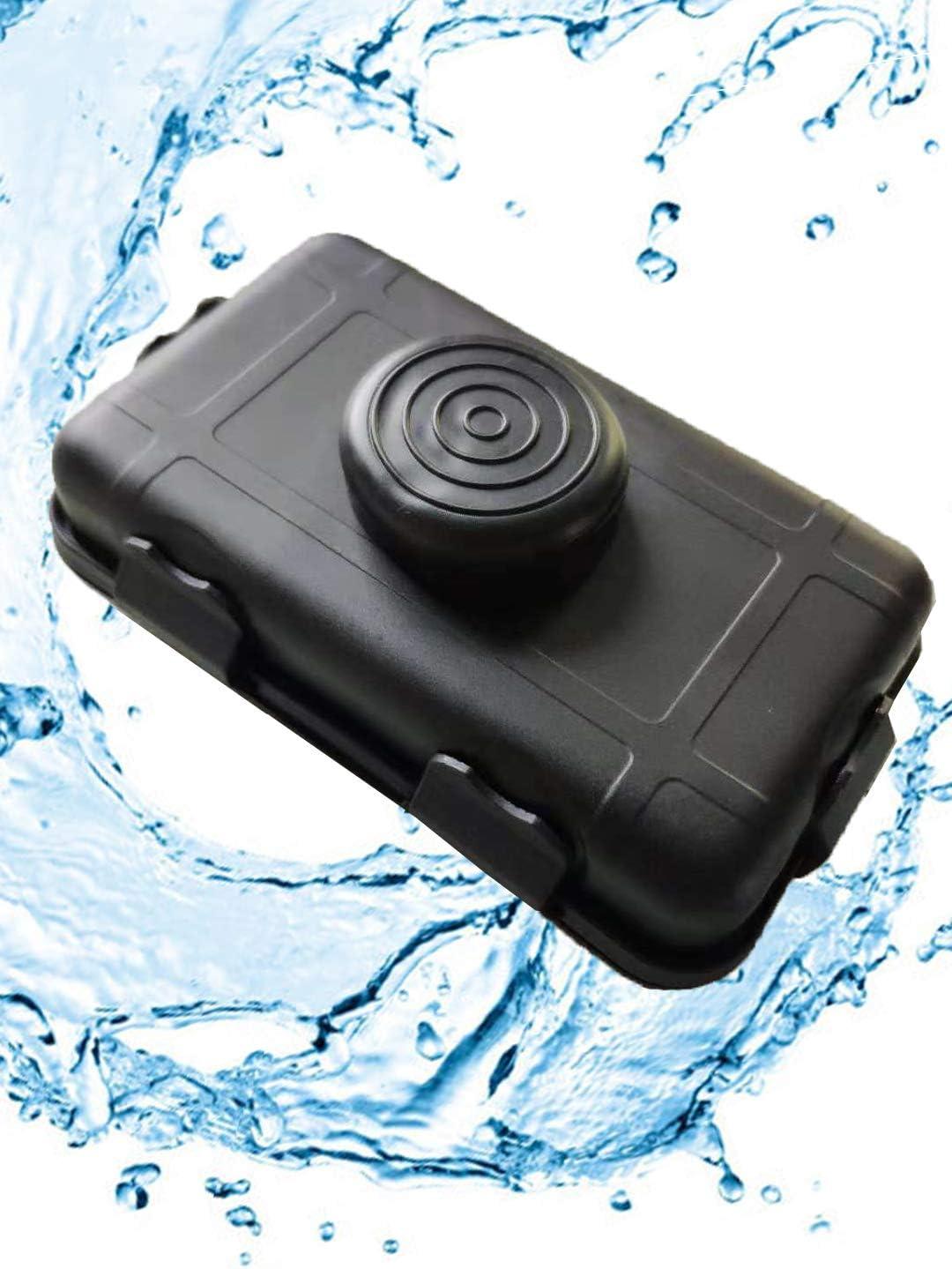 Magnetic Under Car Stash Box Vehicle Safe Secret Case Hidden GPS Keys Container