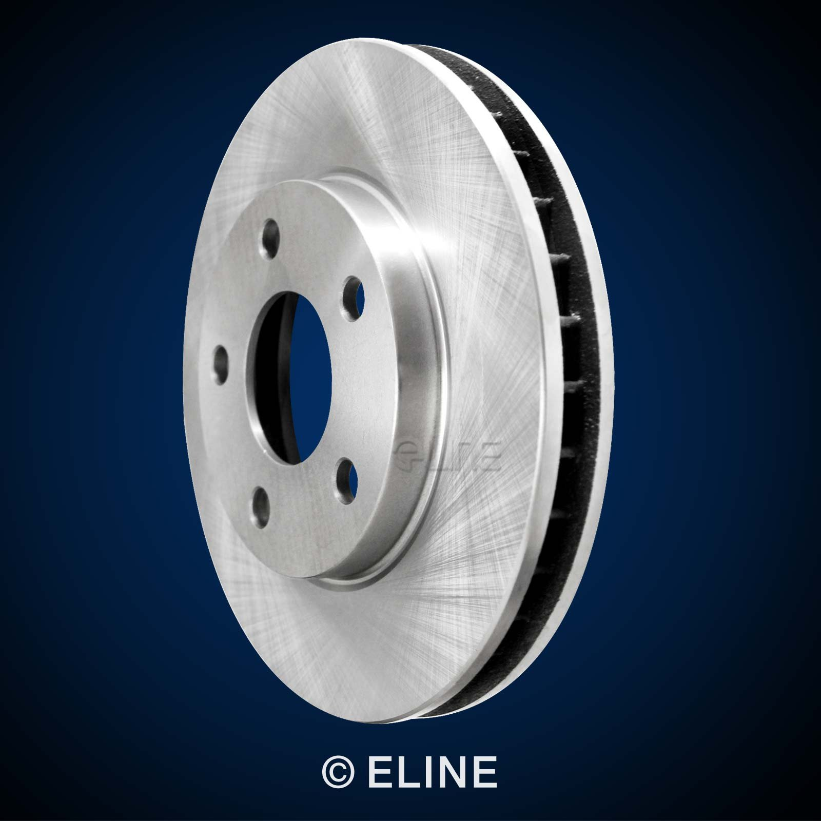 R1 Concepts KEOE11428 Eline Series Replacement Rotors And Ceramic Pads Kit - Front by R1 Concepts (Image #7)