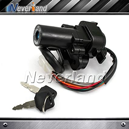 Neverland Interruptor de encendido Kawasaki Ninja 250R EX250 ...
