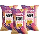 Barnana Organic Plantain Chips - Himalayan Pink Salt- 5 Ounce, 3 Pack Plantains - Barnana Salty, Crunchy, Thick Sliced Snack - Best Chip For Your Everyday Life - Cooked in Premium Coconut Oil