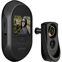 Brinno Front Door Peephole Security Camera- Motion Detection - Knocking Sensor- Easy to Install- Superior Battery Life…