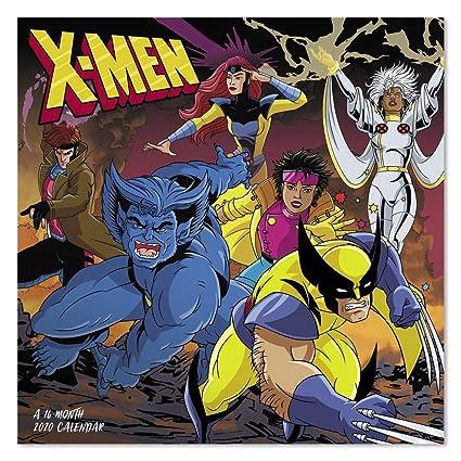 Calendario For Mens 2020.2020 Marvel X Men Ddw1852820 Calendario De Pared Amazon