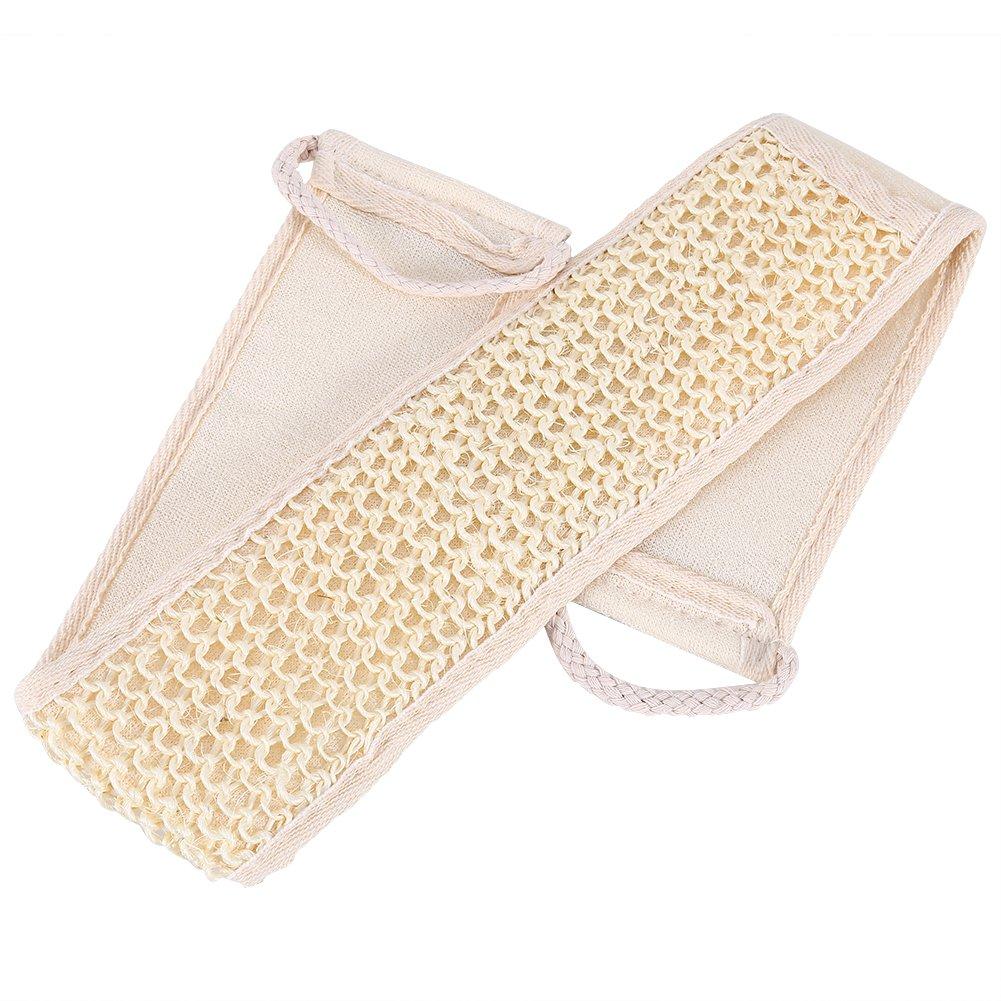 Bath Wash Back Strap Loofah Shower Massage Scrubber Sponge Body Skin Care