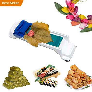 uhmhome Vegetable Meat Roller Sushi Maker Stuffed Grape Cabbage Leaf Rolling Machine