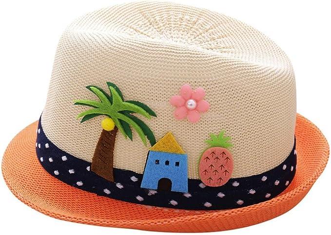 Lanhui Toddler Kids Sun Hat Cap Summer Outdoor Baby Girls Boys Beach Cotton