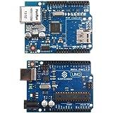 Sunfounder UNO R3 + Ethernet Shield W5100 Starter Kit For Arduino Mega2560 Mega328 Nano