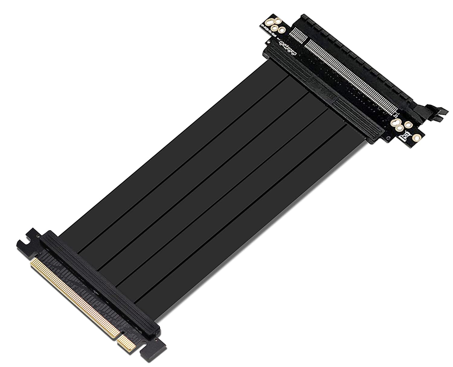 EZDIY-FAB All NEW PCI Express 16x Flexible Cable Card Extension Port Adapter High Speed Riser Card-25cm